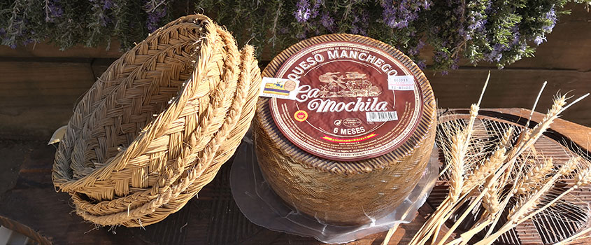 Pasteurized P.D.O. Manchego Cured 6 Months