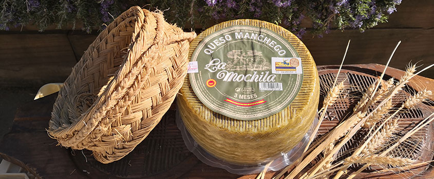 Pasteurized P.D.O. Manchego Semicured 3 Months